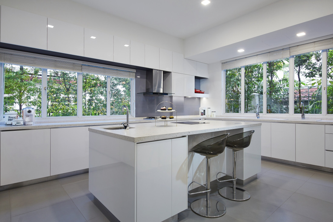 Singapore interior design photography residential kitchen culture